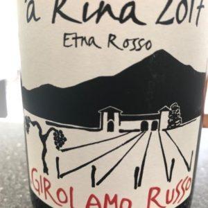 Girolamo Russo Etna Rosso A rina 2017