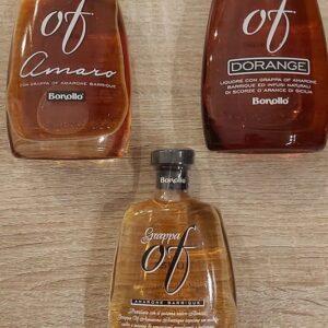 Bonollo 3 bottigliette da 5 cl