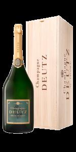 Deutz Champagne 3 lt in cassetta di legno