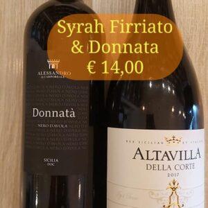 Donnatà & Syrah Firriato