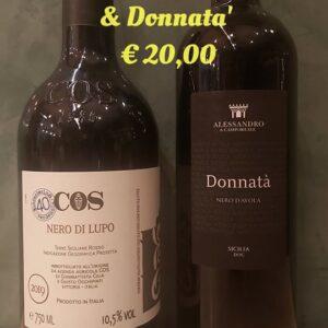 2 bottiglie Nero d'Avola