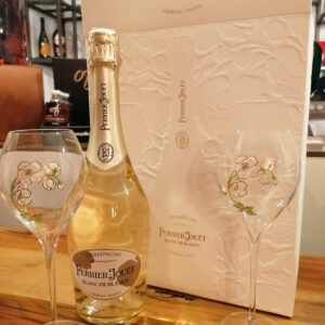 Champagne Perrier Jouet con 2 calici