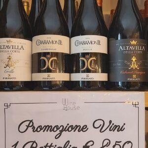 Offerta 3 bottiglie Firriato € 20,00