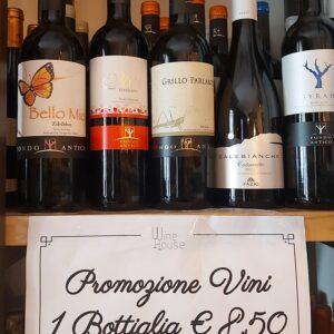 Offerta 3 bottiglie 20 €