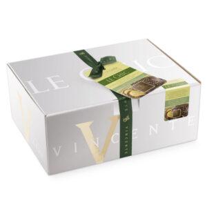 Colomba al cioccolato fondente e crema di pistacchio Vincente 900 gr
