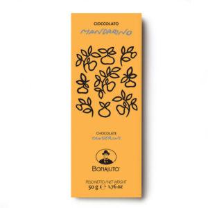 Cioccolato di Modica al mandarino Bonajuto 50 gr