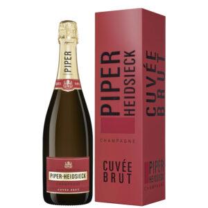 Champagne Cuvée Brut Piper Hiedsieck 75 cl in astuccio