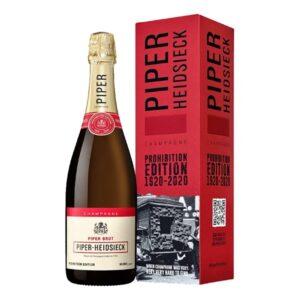 Champagne Piper Heidsieck – Prohibition Edition 1920 -2020 in astuccio