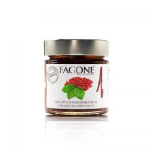 Capuliato di pomodoro secco Fagone – vasetto da 100 gr