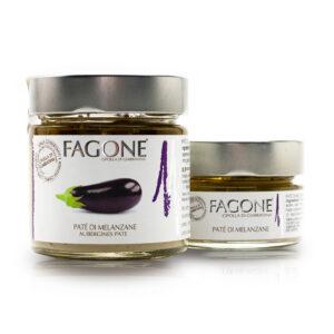 Patè di melanzane Fagone – vasetto da 100 gr