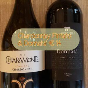Chardonnay Firriato & Donnatà Nero d'Avola € 14,00