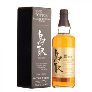 "Blended Japanese Whisky Aged in Bourbon Barrel ""The Tottori"" – Matsui Whisky- 70 cl in astuccio"