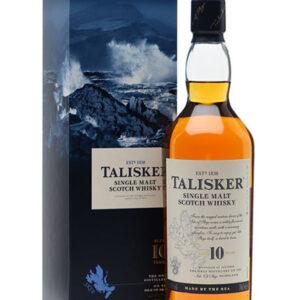 Talisker Single Malt Scotch 10 Years Old – 70 cl in astuccio