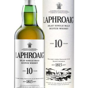 Laphroaig  Islay Single Malt Scotch Whisky invecchiato 10 anni – 70 cl in astuccio